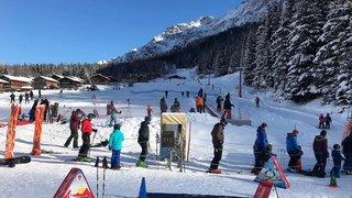 Les pistes de ski ouvrent ce week-end au Pays du Saint-Bernard