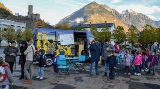 Martigny: le Centre de loisirs et culture dispose d'un nouvel outil d'animation, le Blue Bus