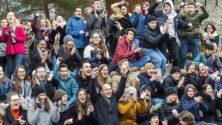 Élection de Viola Amherd: ambiance festive à Brigue