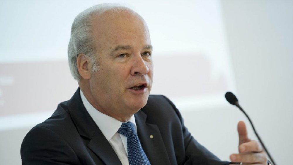 Jean-Daniel Papilloud ne préside plus la Banque cantonale du Valais depuis mai 2018.