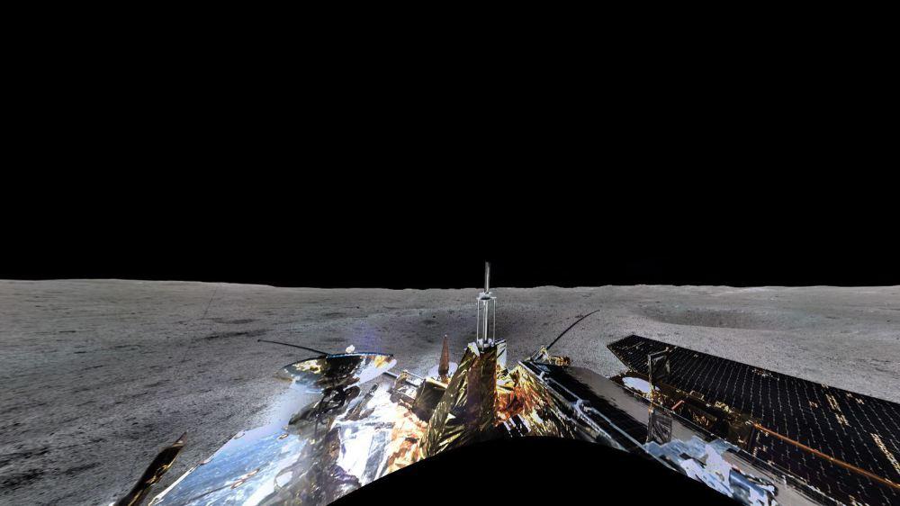 Espace: voici le premier panorama de la face cachée de la Lune