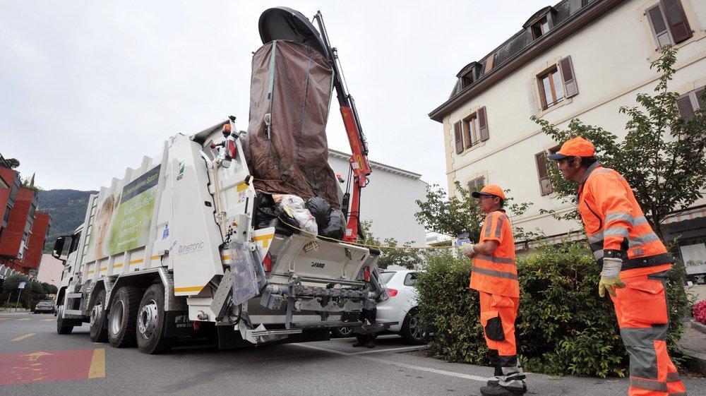 En Valais, le marché de l'évacuation des ordures était déjà libéralisé pour les grandes entreprises.