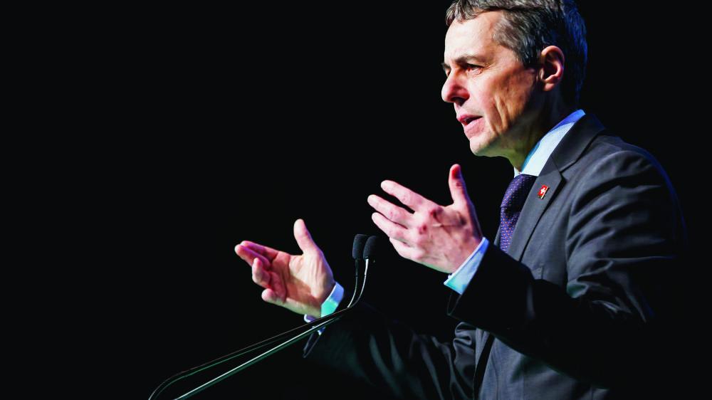 Après une année agitée pour la diplomatie, Ignazio Cassis devrait présenter au mois de mai son rapport sur la stratégie au Proche-Orient.