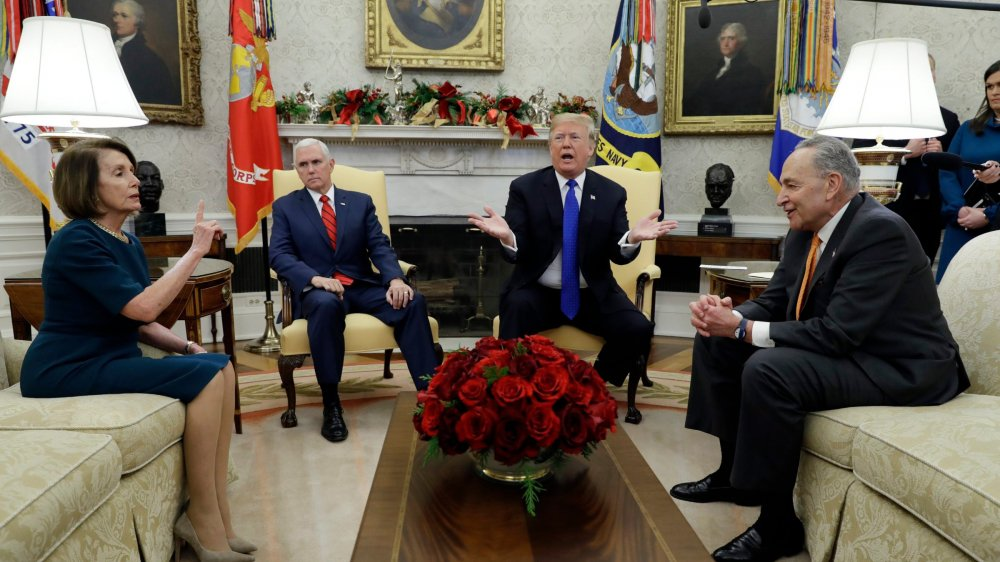 Trump face au mur Pelosi