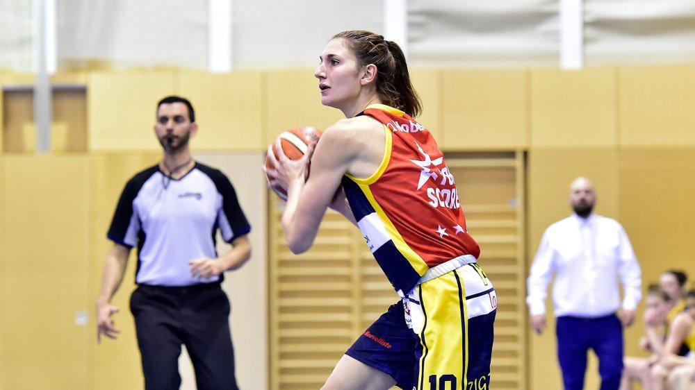 Au BBC Troistorrents, Meline Franchina a découvert une nouvelle approche du basket.