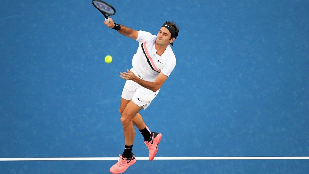 Roger Federer était, à en croire Yves Allegro, meilleur lors de la Hopman Cup que durant l'année 2018.