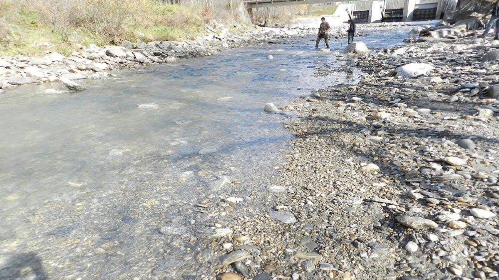 Captage sur le Rhône à Glüringen. Un exemple cité par le Valais pour exiger une diminution des débits d'eau qui ne serait pas néfaste à l'environnement.