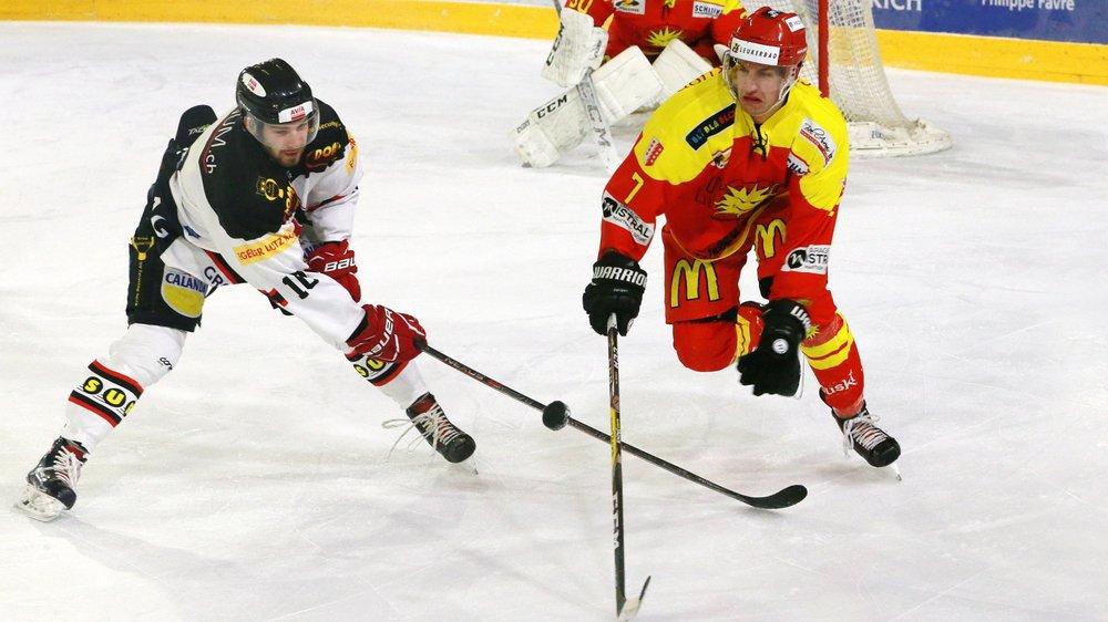 Eliott Meyrat et le HC Sierre ont commencé l'année 2019 comme ils avaient terminé l'année 2018: par une victoire.