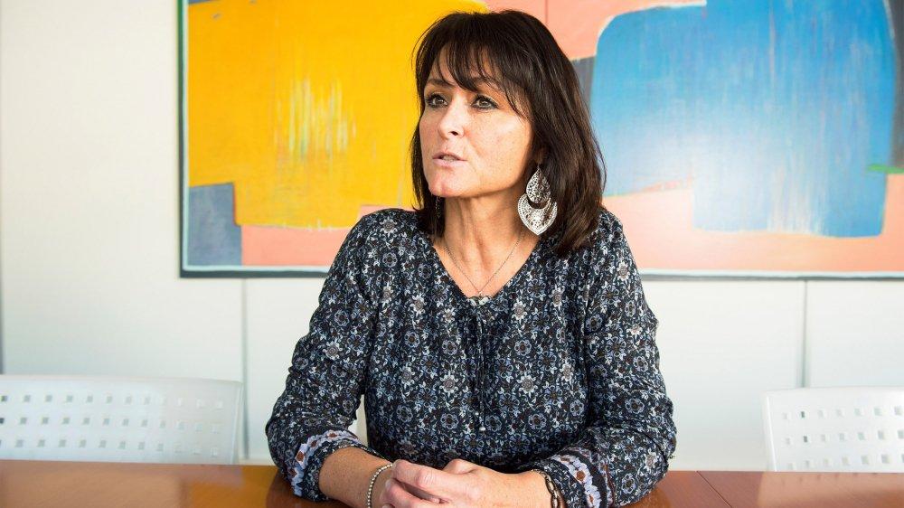 Coprésidente de l'association romande EXIT depuis l'an dernier, Gabriela Jaunin est également accompagnante depuis quatorze ans.