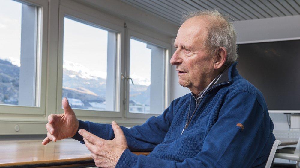 Pour Jean-Pierre Fragnière, la demande de s'en aller est liée à la croissance fulgurante des techniques d'entretien.