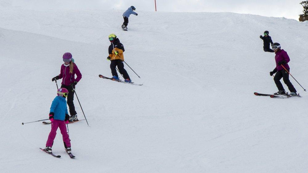 Pour l'heure, 700 élèves de la plaine du district de Monthey ont retiré leur abonnement de saison gratuitement auprès des Portes du Soleil Suisse.