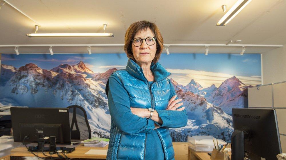 Kathy Berset Solioz, présidente de l'USPI Valais, va renforcer le contrôle de tous ses membres.