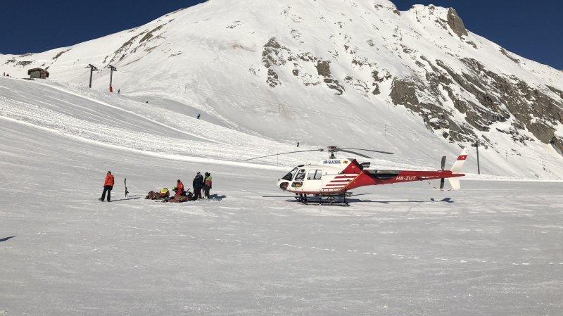 Valais: du travail plein les bras pour Air-Glaciers