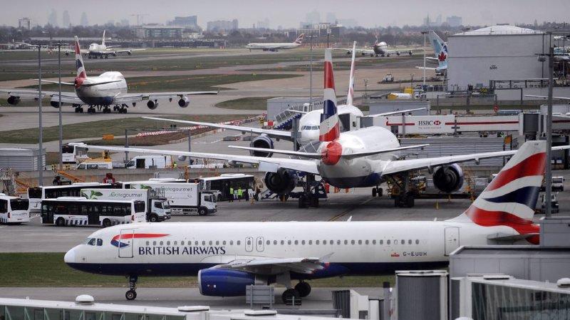 Monde: Deux aéroports de Londres s'équipent de bouclier anti-drones