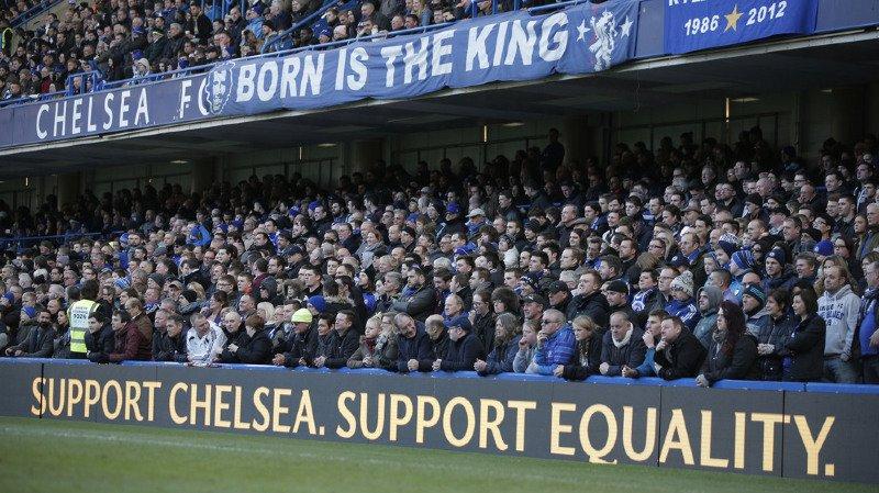 Ce n'est pas la première fois qu'un supporter de Chelsea se comporte ainsi.