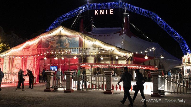 Le cirque Knie va pouvoir s'offrir un chapiteau flambant neuf.