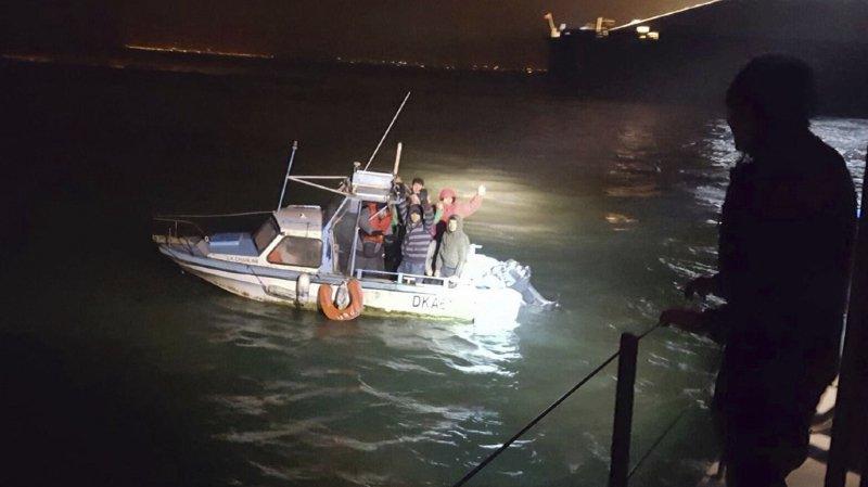 Depuis le 23 décembre, près d'une centaine de personnes ont été secourues en mer par les autorités françaises ou britanniques.
