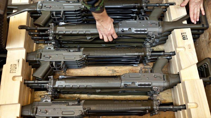 Depuis 2009, l'armée a comptabilisé la disparition de 776 fusils d'assaut et pistolets.