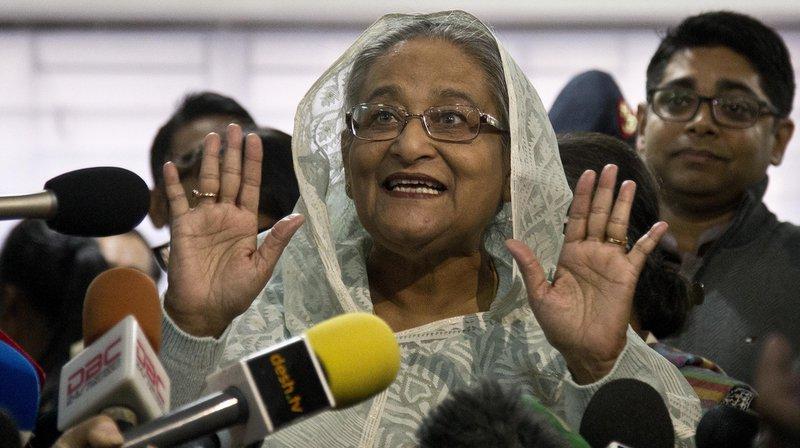 Sheikha Hasina remporte les législatives sur fond de violences — Bangladesh