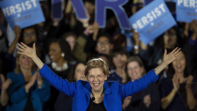 La Sénatrice du Massachusetts Elizabeth Warren a diffusé une vidéo de candidature sur son compte Twitter.