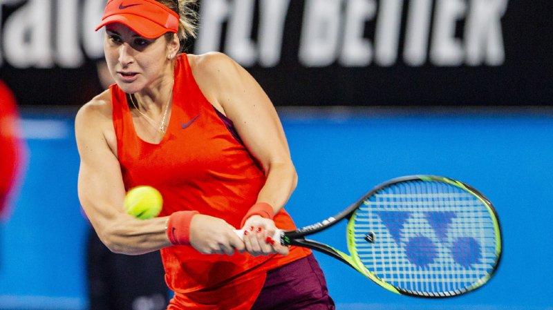 Tennis - Tournoi de Hobart : Belinda Bencic sort la tête de série no 2 Mihaela Buzarnescu