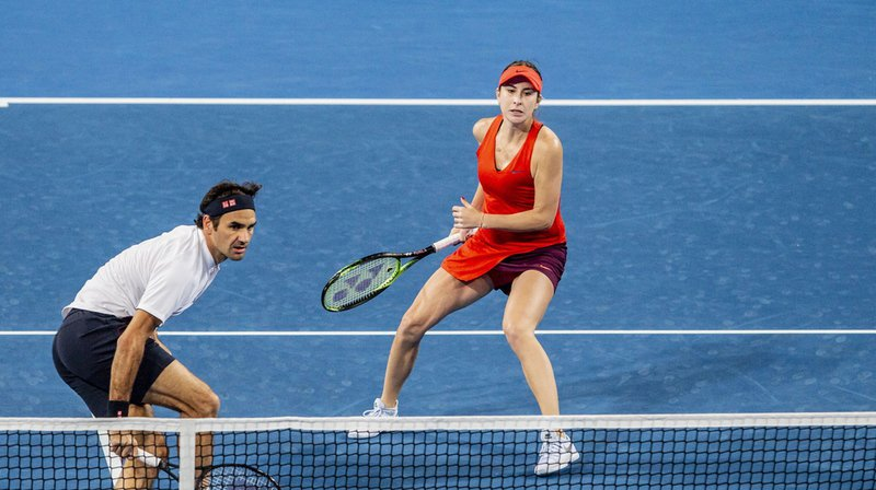 Tennis - Hopman Cup: le duo Federer-Bencic permet à la Suisse de conserver son titre