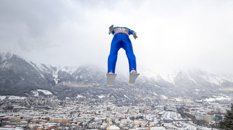 Saut à ski - Tournée des 4 tremplins: belle 5e place des qualifications à Innsbruck pour le Vaudois Killian Peier