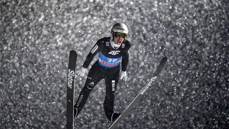 Coupe du monde de saut à ski: Ammann dans le top 10 pour la première fois de l'hiver