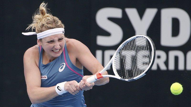 Tennis: Timea Bascinszky ne passe pas les quarts au tournoi WTA de Sydney