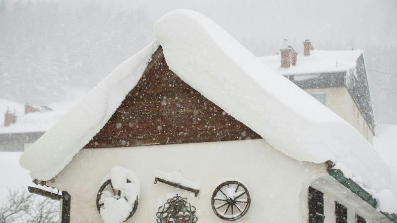 Par endroits et notamment dans les Alpes, plus d'un mètre de neige fraîche est attendu. (illustration)