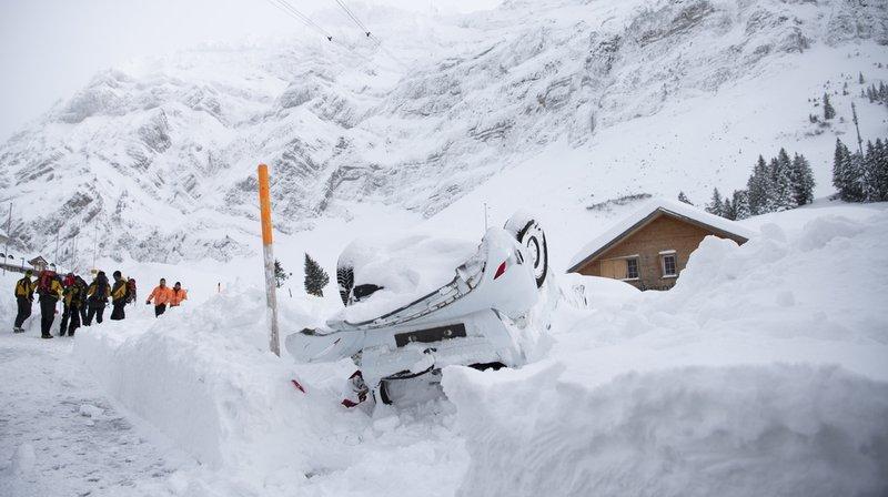 Avalanche du Säntis: recherches d'éventuels disparus à Schwägalp stoppées