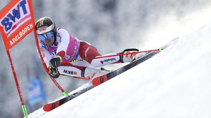 Ski alpin: Kristoffersen mène la première manche du géant d'Adelboden, les Suisses discrets