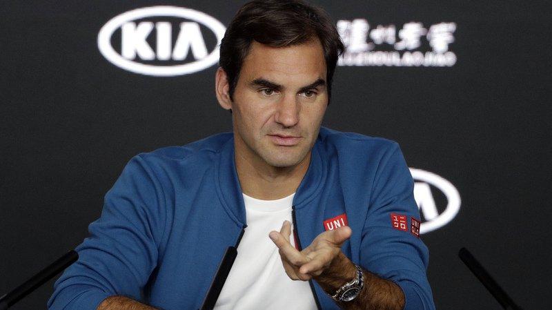 Roger Federer ne veut pas regarder plus loin que le premier tour malgré le fait d'être invaincu depuis... 57 matches à ce stade de la compétition dans un tournoi du Grand Chelem.