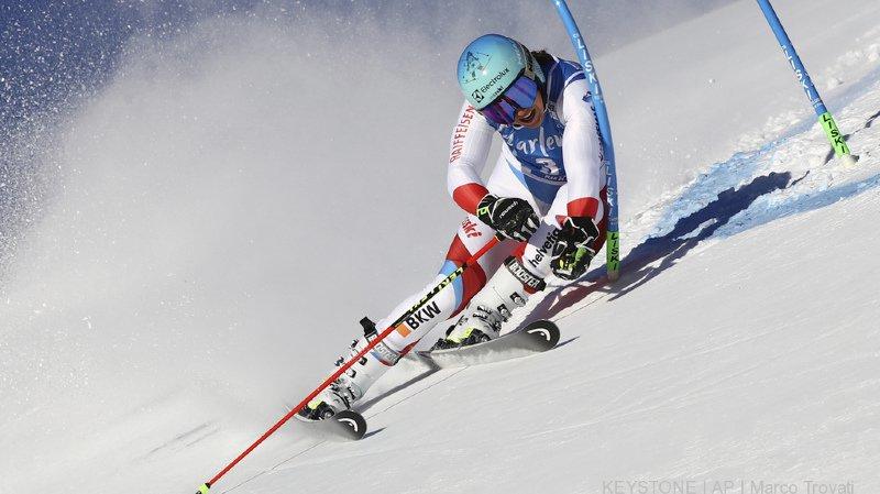 Ski alpin: les Suissesses très en retrait après la première manche du géant de Kronplatz, Shiffrin sur une autre planète
