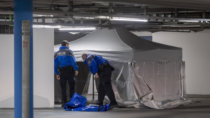 Genève: un jeune homme de 20 ans tué à l'arme blanche dans un parking souterrain