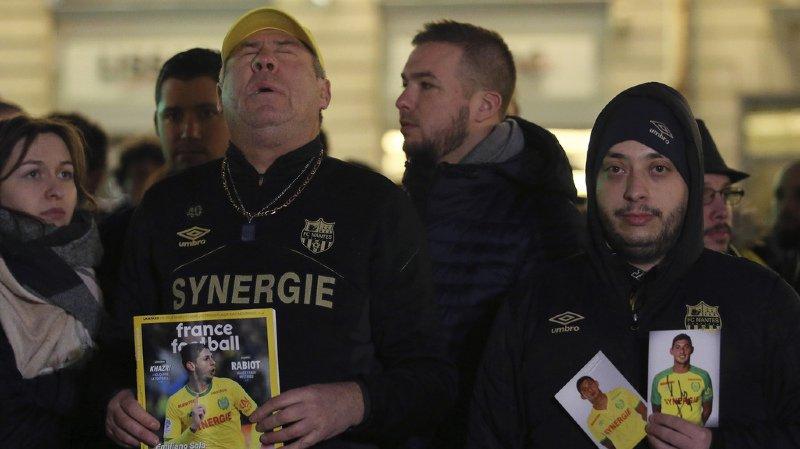Football: les supporters du FC Nantes choqués par la disparition d'Emiliano Sala