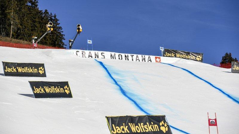 Ski alpin: un slalom nocturne le 16 janvier à Crans-Montana