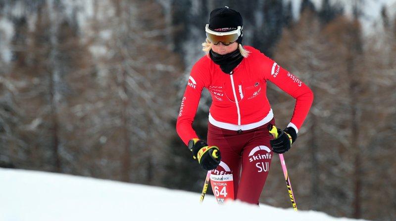 Victoria Kreuzer a retrouvé la compétition le week-end passé à Veysonnaz.
