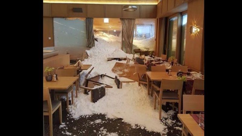 La coulée a provoqué de gros dégâts.