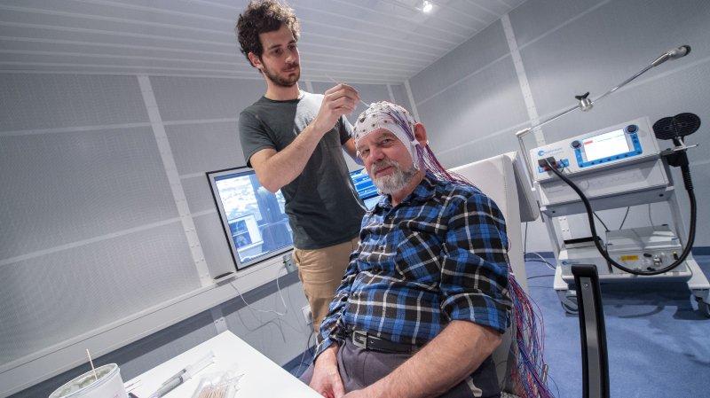 Recherche à l'EPFL: vivez une journée de tests avec une victime d'un AVC
