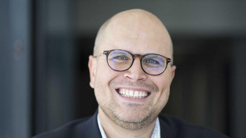 Le journaliste de la RTS Romain Clivaz est originaire du Haut-Plateau