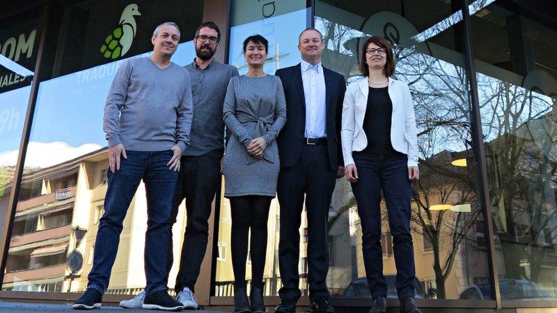La nouvelle agence romande Minergie s'installe à Sion. Elle emploie cinq personnes.