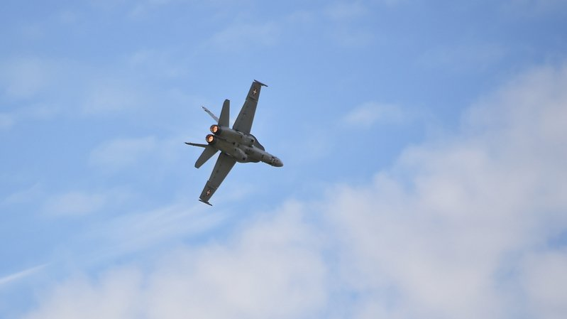 World Economic Forum de Davos: des avions de combat pourraient voler sur le Valais