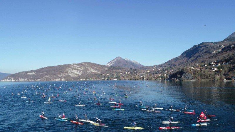 Stand up paddle: des Valaisans inspirés parmi les givrés de la Glagla Race