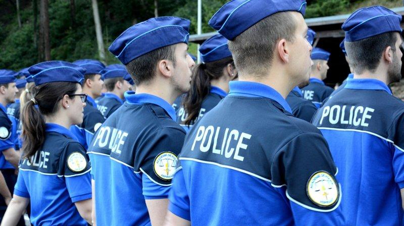 147 nouveaux policiers sortent de l'École d'aspirants de Savatan