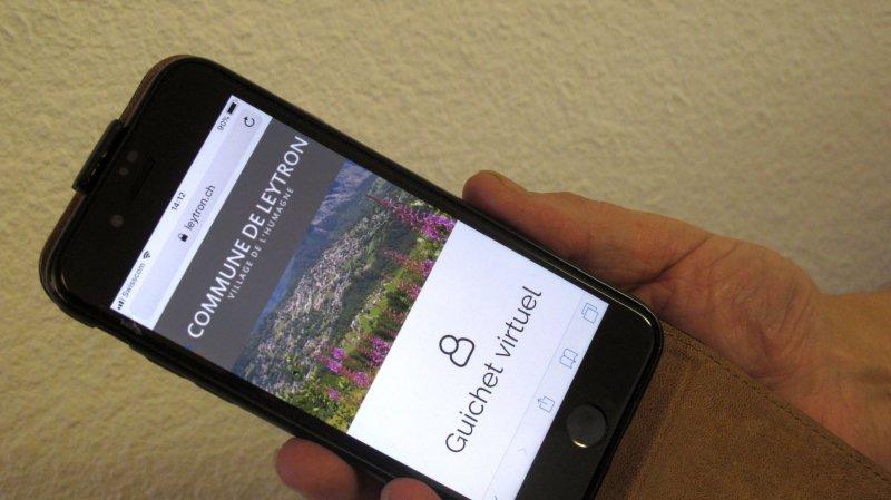 Les citoyens de la commune de Leytron peuvent, s'ils le désirent, recevoir les informations communales par le biais de leur téléphone portable.