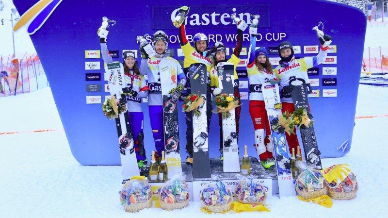 Le duo suisse Caviezel/Kummer a terminé sur la troisième marche du podium.