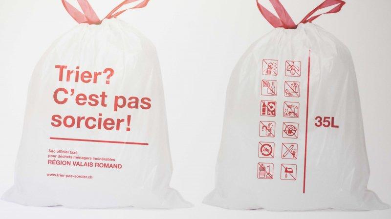 Depuis l'entrée en vigueur des sacs blancs, le volume des ordures ménagères récoltées a diminué de 38% à Collonges.