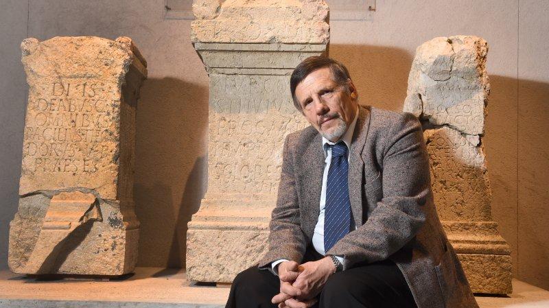 François Wiblé a été honoré pour ses travaux d'archéologie, en particulier sur Martigny.