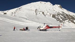 Air-Glaciers: près de 100 sauvetages durant la période de Noël